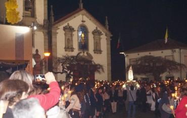 Procissão de Velas - Imagem Peregrina de Nossa Senhora de Fátima